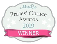 Mrs2Be Brides Choice Awards Winner 2019